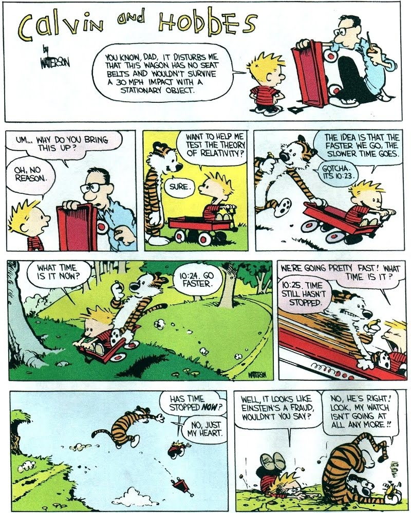 "calvin and hobbs comic strip ethical Ethics with calvin and hobbes  ""the creator of the calvin and hobbes comic strip, bill watterson (b 1958) refused to merchandise his characters calvin and hobbes appeared in more than 2,300 newspapers around the world,  (hinman is an ethicist who teaches courses in ethics and ethical reasoning) explain why or why not."