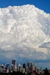 Cumulonimbus over Calgary
