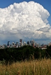 About to rain in Calgary